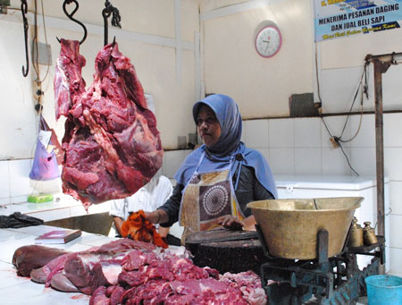 Jelang Idul Adha, Harga Daging Sapi Masih Stabil