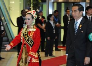 Presiden Jokowi Optimis Hadapi MEA