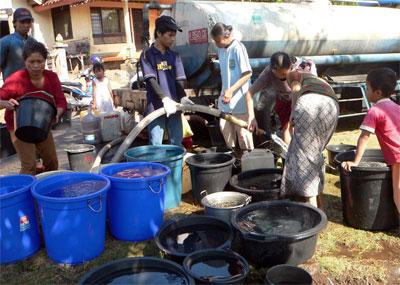 Harga Air Bersih di Pamekasan Capai Rp 250 Ribu