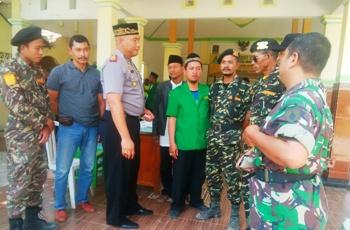 Ansor, Polri-TNI Tuban Ikrar Jaga Kerukunan
