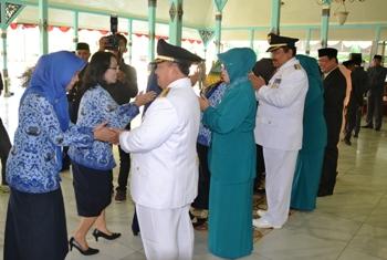 Perayaan HUT Kab.Madiun Dikemas Halal Bihalal