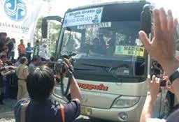 Jasa Raharja Bojonegoro Sediakan Bus Mudik Gratis