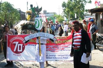 Pawai Karnaval RW Libatkan 1500 Orang