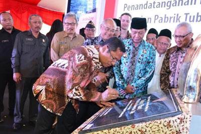 Pasar Lesu, Holcim Resmikan Pabrik Baru di Tuban Berkapasitas 3,4 Juta Ton