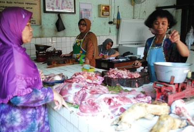 Disperindag Bojonegoro Awasi Pasar Tradisional