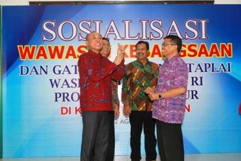 Alumni Taplai Kebangsaan Lemhannas Perkuat Wasbang