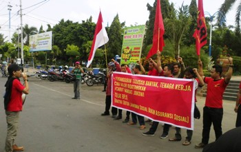 SBM-KASBI Desak Mandat ke Presiden Jokowi Dicabut