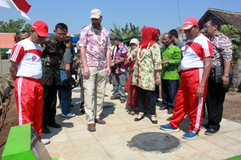 Kota Pasuruan-USAID Bangun IPAL Komunal