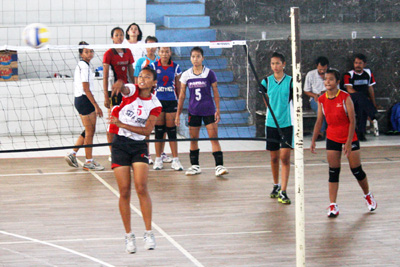 9 Tim Bola Voli Ikuti Kejurnas PPLP Putri