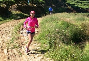 Maemunah Pelari Pertama Finish MTR