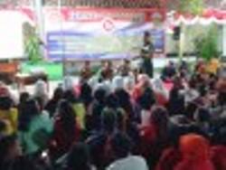 Dandim Bangkalan Kuliahi Mahasiswa Stikes