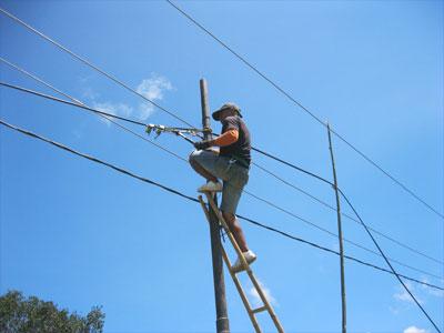 PT Telkom Percepat Sambungan Serat Optik