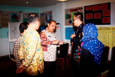 Pejabat Eselon II Jadi Role Model Anti Korupsi