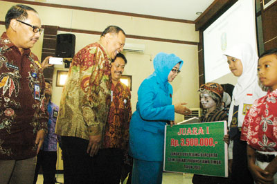 BKOW Jatim Siap Jadi Penggerak Minat Baca