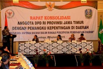 Imbau DPD-RI Kawal Bangun Infrastruktur