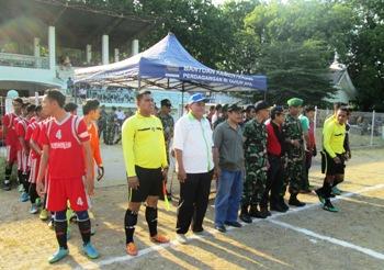 16 Klub SMA/SMK Ramaikan Dandim Situbondo Cup