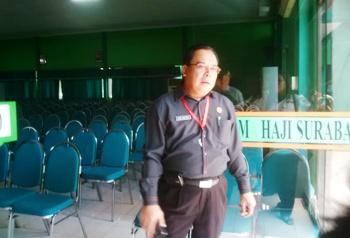 Embarkasi Jamin Asuransi CJH Korban Crane