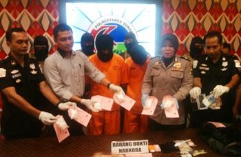 Polrestabes Bongkar Narkoba Lapas Jakarta