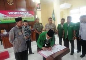 GP Ansor Tuban Gandeng Pemerintah, Polri-TNI