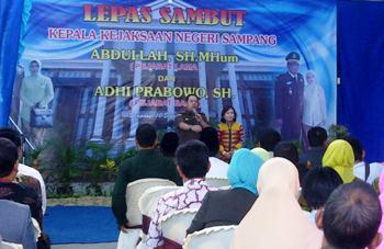 Adhi Prabowo Jabat Kepala Kejaksaan Sampang