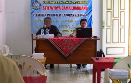 KKN STIE Widya Gama Utamakan Konsep Berimbang