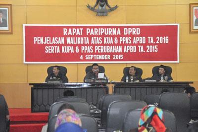 DPRD Kota Blitar Mulai Bahas Perubahan APBD 2015 dan APBD 2016
