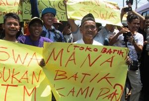 Ratusan Massa PAKO Demo Kantor Dipendik Situbondo