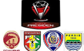 Arema Vs Sriwijaya di Semifinal Piala Presiden