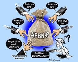 Menggelontor APBN dan APBD