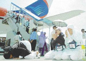 Kloter I Terlambat Akibat Antre Penerbangan