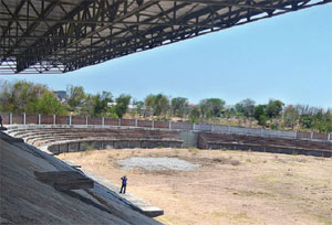Targetkan Pembangunan Stadion Pamekasan Selesai 2016