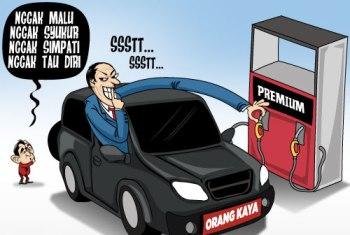 Karikatur BBM