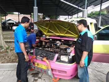 Ciptakan Udara Bersih, Angkot di Gresik Gunakan BBG