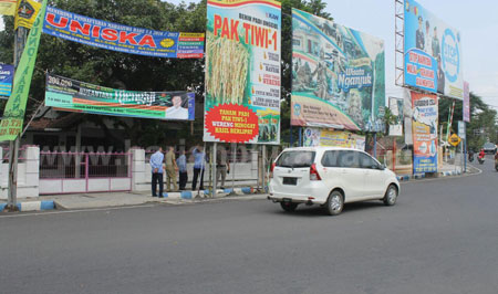 Bocor, Pemasukan IMB Reklame di Nganjuk Nihil