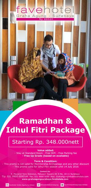 Sambut Ramadan Dan Idul Fitri Favehotel Graha Agung Surabaya Gebyar Promo Harian Bhirawa Online