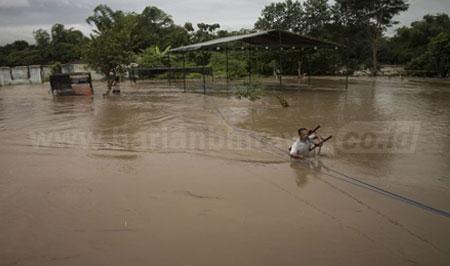2017, Sidoarjo dan Pacitan Daerah Paling Parah Diterjang Bencana