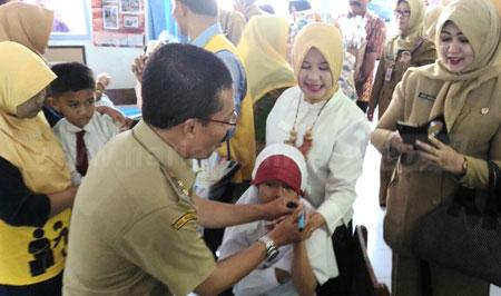 Pemkot Batu Pastikan Sekolah Swasta Dapat Imunisasi MR