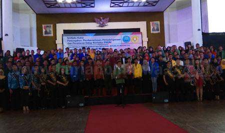 Dihadiri Buwas, BEM Se-Jatim Deklarasi Antinarkoba di UPN