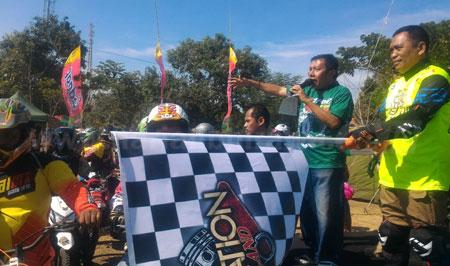 Semarakkan HUT TNI, Wabup Lepas 500 Offroader Situbondo