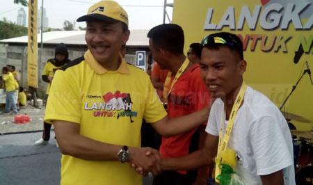 Jawara Nasional Rebut Juara Fun Run Adira 7K
