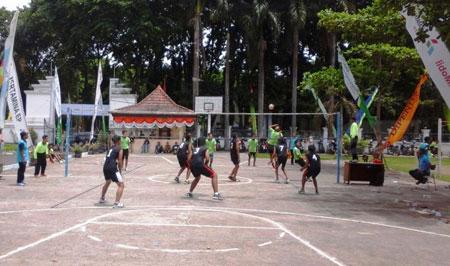 Baperwil Bojonegoro Gelar Turnamen Bola Voli antar UPT