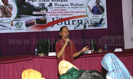 IPNU-IPPNU Universitas Nahdlatul Ulama Sidoarjo Gelar 'Ngaji Jurnalistik'
