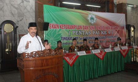 Wakil Bupati Sidoarjo Buka Pentas PAI
