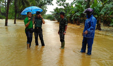 Antisipasi Bencana, Wabup Intruksikan BPBD Siaga 24 Jam