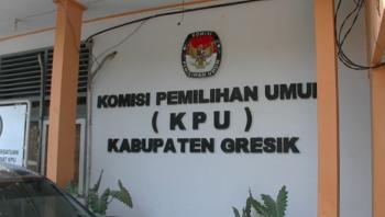 KPU Gresik Perpendek Waktu Coklit Agar Petugas Aman dari Covid-19
