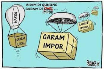 Kegaduhan Penolakan Impor Garam Industri