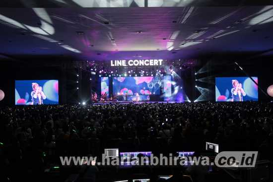 Dale Kim : Gelar Line Concert Menuai Sukses Bertubitubi