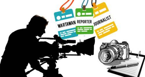 Ajak Wartawan Pamekasan Ciptakan Kondusifitas di Pemilu 2019