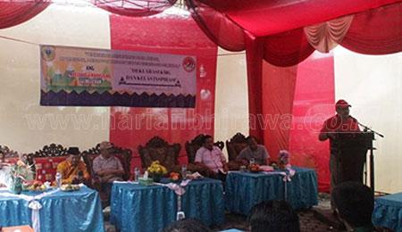 Wakil Bupati Bondowoso Resmikan Kelas Inspirasi KMG Glingseran
