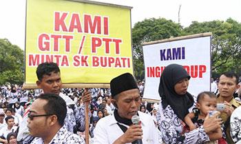 Dindik Jatim Pastikan Gaji GTT/PTT Masuk Kebijakan Sekolah